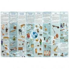 """Poster """"Os instrumentos do mundo"""""""