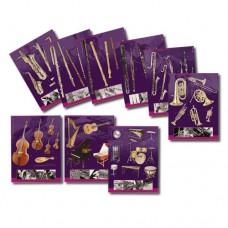 Conhecer os instrumentos - 9 posters