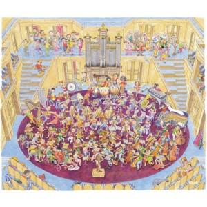 A classe da orquestra